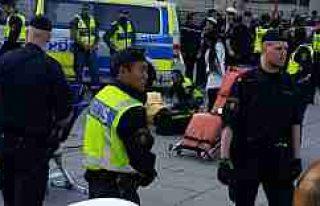 İsveç'te polis aracı 4 öğrenciyi ezdi...VİDEO