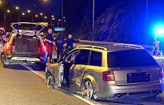 İsveç'te polis kovalamacasının ardından...