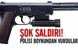 İsveç'te polisi susturucu silahla boynundan...