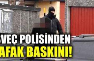 İsveç'te polisinden şafak baskınları 10...
