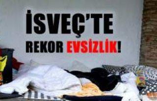 İsveç'te rekor sayıda çocuk evsiz