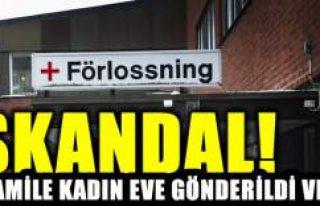 İsveç'te sağlık skandalı hamile kadını...