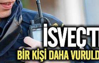 İsveç'te saldırılar sürüyor bir kişi daha...