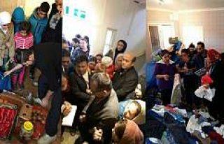 İsveç'te Sığınmacılara Türk Vatandaşlarından...