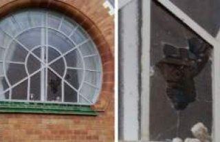 İsveç'te Sinagoga taşlı saldırı