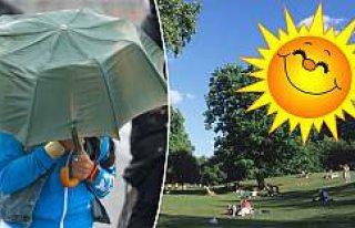 İsveç'te sonbaharda  rekor sıcaklık