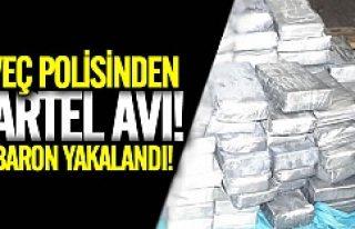 İsveç'te uyuşturucu baronlarına operasyon