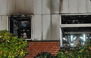 İsveç'te yangın 4 kişi hastanelik oldu