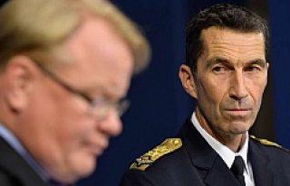 İsveç'te yeni Genelkurmay Başkanı atandı