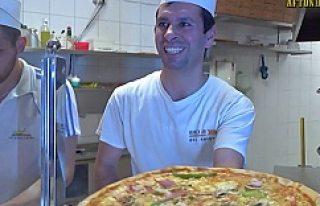 İsveç'te yeni yılda en çok satılan pizza...
