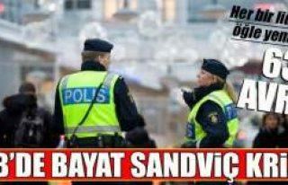 """İsveç'teki AB zirvesinde """"bayat sandviç""""..."""