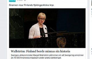 İsveç'ten Finlandiya'ya çok sert mülteci...