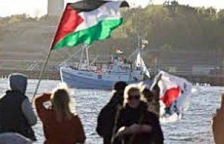 İsveç'ten İsrail'e Özgürlük Filosu...