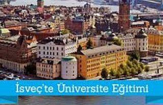 İsveç Türk Öğrenci ve Araştırmacılara Burs...