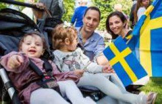 İsveç vatandaşlığı bulunan göçmenlerin sayısı...