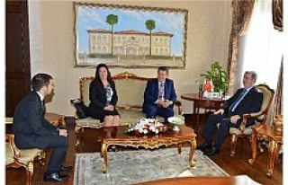İsveç'in Ankara Büyükelçisi Lars Wahlund, Antalya...