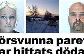 İsveçli bir çift donarak öldü...