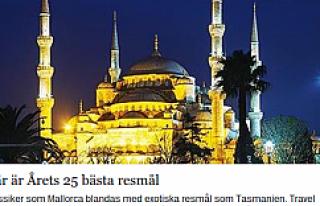 İsveçlilere göre İstanbul dünyanın en görülecek...