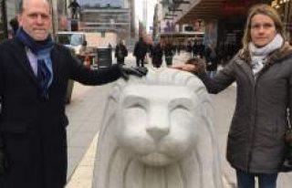 İsveçlileri aslan heykeller terör saldırısından...