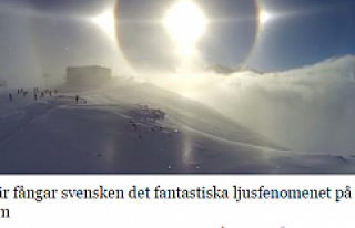İsveçlinin çektiği güneş videosu sosyal medyayı...