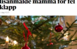 İsveçli, Noel hediyesini yanlış alan annesini...