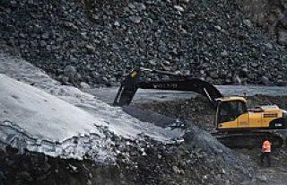 İsveç'te 935 metre yerin altında çıkan maden...