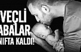 İsveç'te çocuk bakan babalar sınıfta kaldı