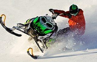 İsveç'te kar motoru 'Skotern' 18 yaşındaki bir...
