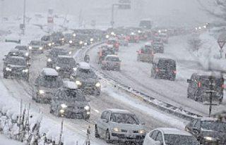 İsveç'te tarihin en yoğun kar yağışı olabilir