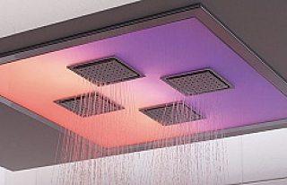 İsveç'te uzay teknolojisi duş tanıtıldı...VİDEO