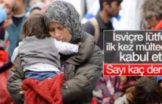 İsviçre ilk defa Suriyeli sığınmacı aldı