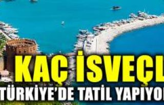 Kaç İsveçli Türkiye'de tatil yapıyor?