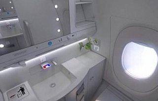 Kadınlar İçin Uçakta Ayrı Tuvalet