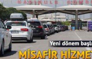 Kapıkule'de yolcular misafir gibi ağırlanacak