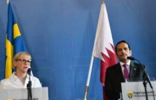 Katar Dışişleri Bakanı Al Sani, İsveç'te...