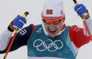 Kayaklı koşuda kadınlarda İsveç erkeklerde Norveç...