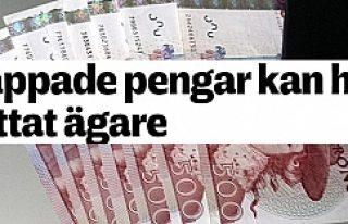 Kayıp paranın sahibi 1 Ay sonra ortaya çıktı