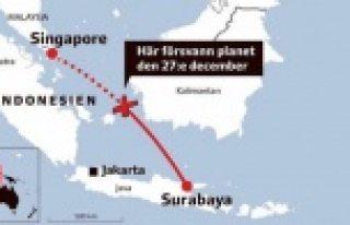 Kayıp uçağın enkazından 40 ceset çıkarıldı!