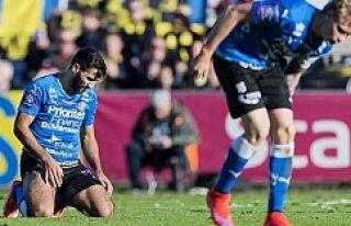 Kendi kalesine gol atan futbolcu İsveç'te ölüm...