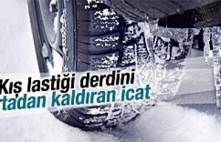 Kış lastiğini ortadan kaldıran icat