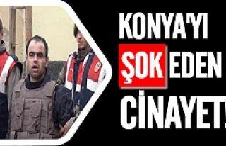 Konya'da hamile eşini öldüren katilden şok...
