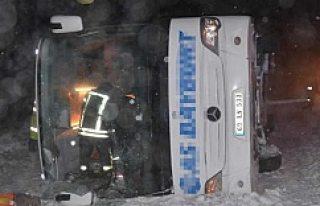 Konya'da feci kaza 25 yaralı!