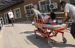 Kulu'da Hastane Önünde Kaza 1 Yaralı