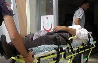 KULU'da İnşaattan Düşen Kişi Yaralandı