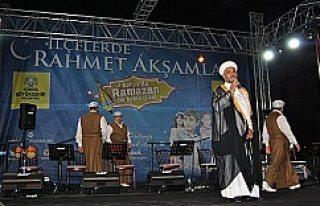 Kulu'da Rahmet Akşamları programı