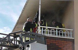 Kulu'da 2 Katlı Müstakil Evde Yangın Çıktı