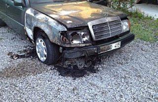 Kulu'da Gece Otomobil Kundaklandı