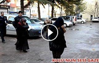 Kulu'da Hırsızlar Suçüstü Yakalandı