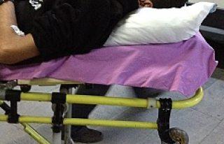 Kulu'da Motosiklet ile Araba Çarpıştı 1 Yaralı