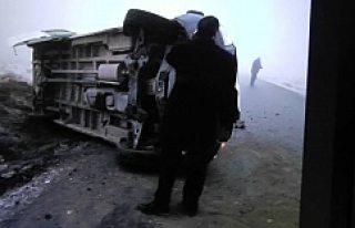 Kulu'da Öğrenci Servisi Devrildi 6 Yaralı